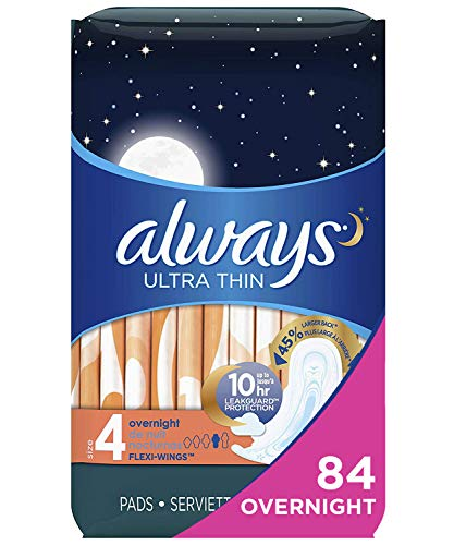 Always Ultra Thin Feminine Pads 84 Count