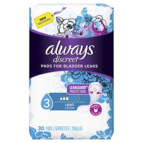 Always Discreet Incontinence Pads Women