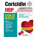 Coricidin HBP Decongestant-Free Cold Flu Tablets