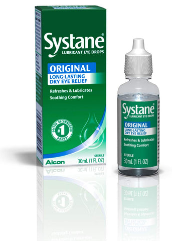 Systane Long Lasting Lubricant Eye Drops, 1 Fl. Oz (Pack of 1)
