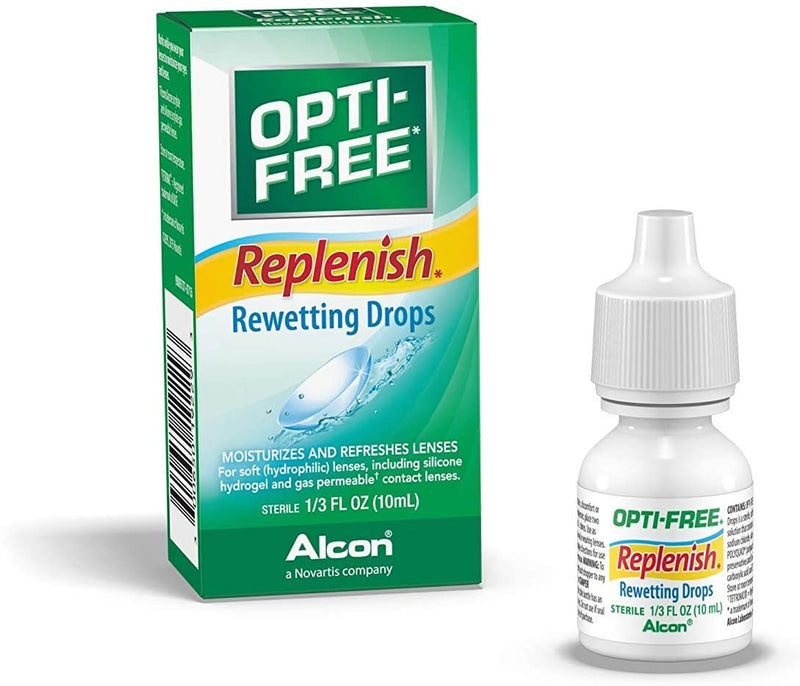 OPTI-FREE Replenish Rewetting Drops 10 mL