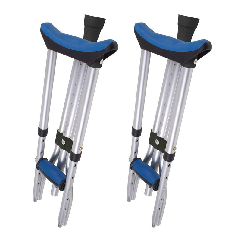 Carex Folding Aluminum Lightweight Crutches