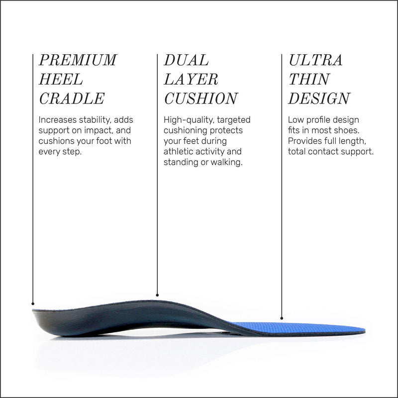 Powerstep Full Length Orthotic Arch Heel Pain