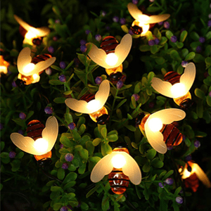 Honeybee Solar Garden Lights - Eden Home & Garden