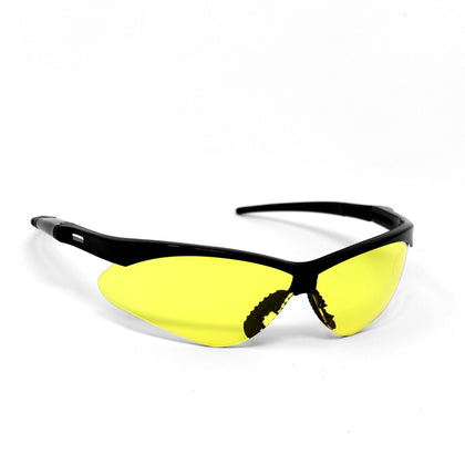 OPTIC MAX Amber Lens With Black Frame