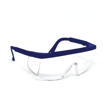 OPTIC MAX Clear Lens With Blue Frame