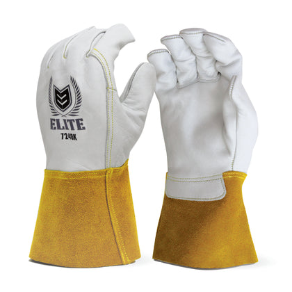Cow Grain Leather Tig Welder Glove