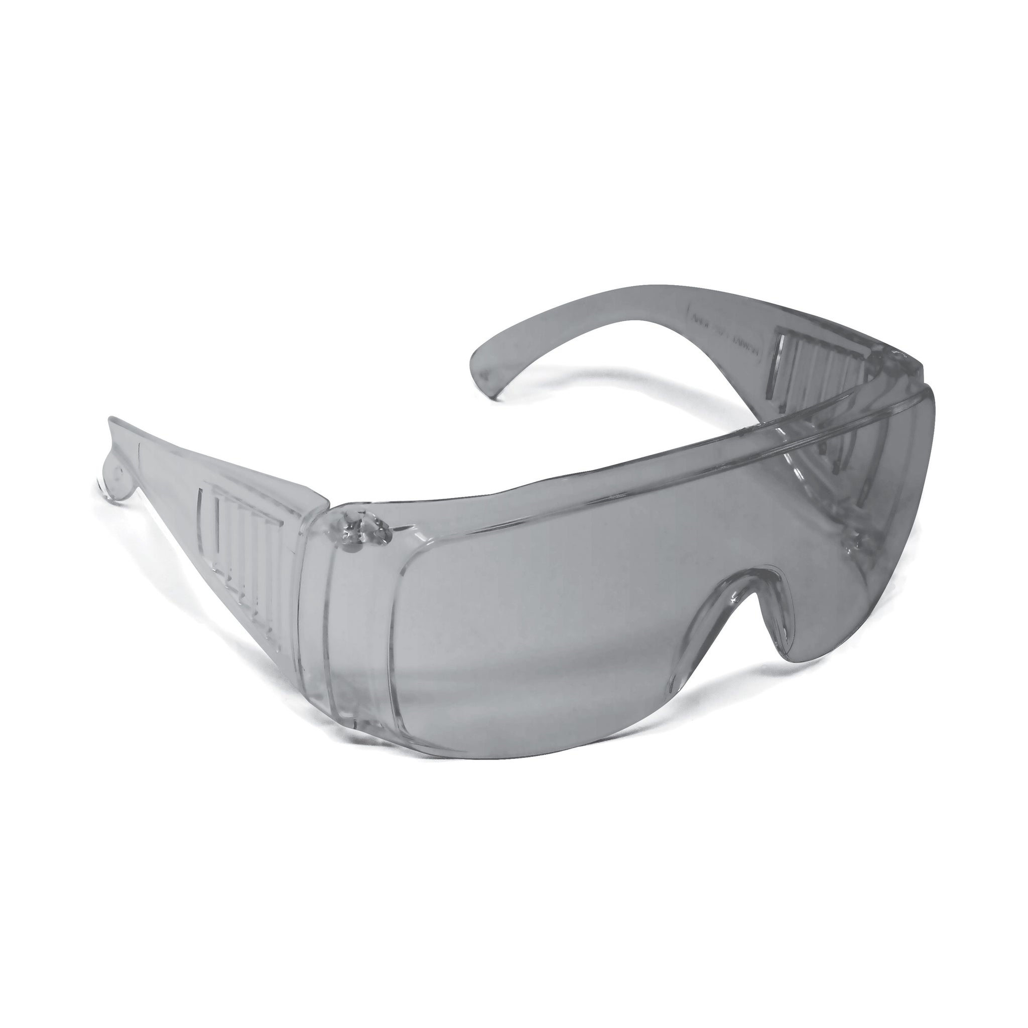 Visitor Safety Glasses Grey (12 Pack)