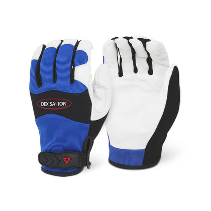 Dex Savior Goat Leather Mechanic Glove