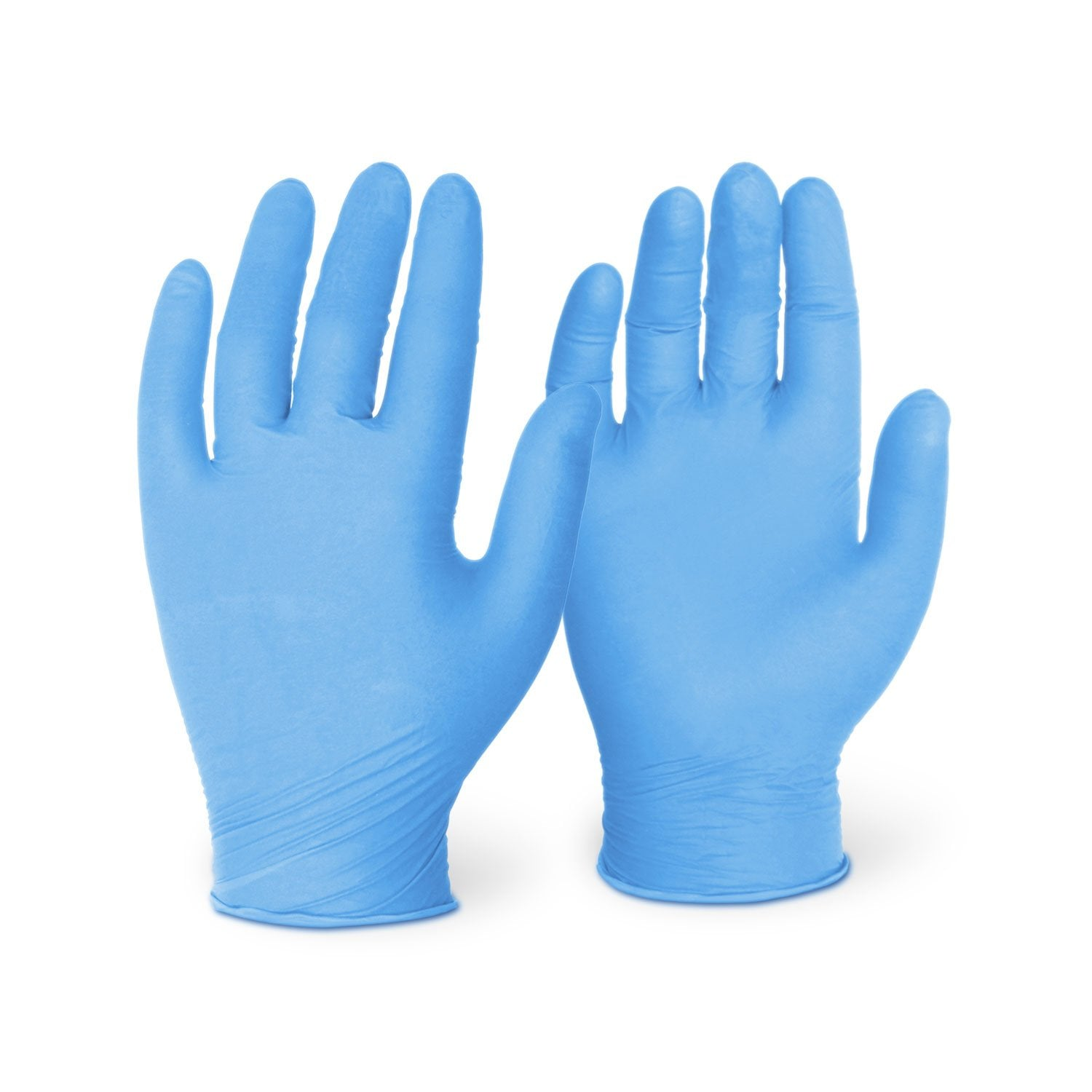 8 Mil Blue Nitrile Long Cuff (500 Gloves/Case)