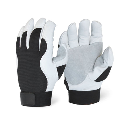 Goatskin Palm Patch Mechanic Glove