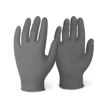 6 Mil Black Nitrile (1,000 Gloves/Case)
