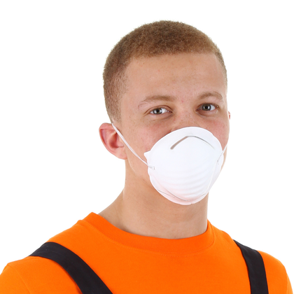 DUST GUARD Nuisance Masks- Single Strap (50 pc)