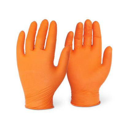 5 Mil Orange Nitrile (1,000 Gloves/Case)