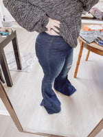 L&B Pull On Flare Jeans