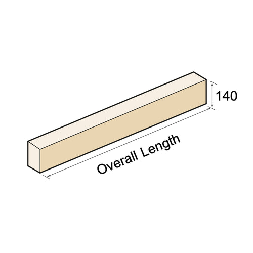 Plain Lintel / Head - Isometric