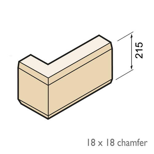 Chamfered Quoin - Isometric