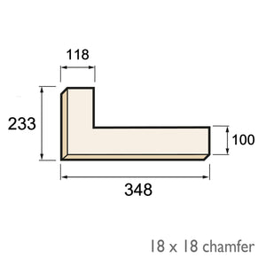 Chamfered Quoin - Plan