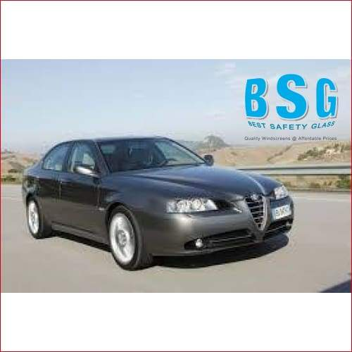 Alfa 166 4D Sedan With R/S & Moulding 99-07 Windscreen - Windscreen