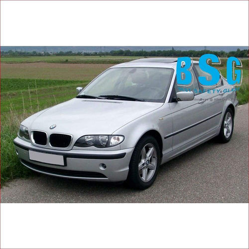 BMW 3 Series E46 4 Door Rain Sensor Artwork 99-05 Windscreen - Windscreen