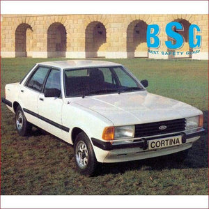 Ford Cortina MK5 4 Door Sedan 81-84 Windscreen - Windscreen