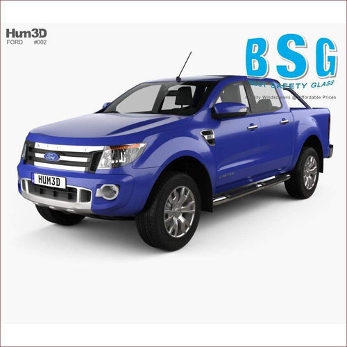 Ford Ranger T6 Rain Sensor & Camera (Lane Departure/Night Vision) Artwork 11-19 Windscreen - Windscreen