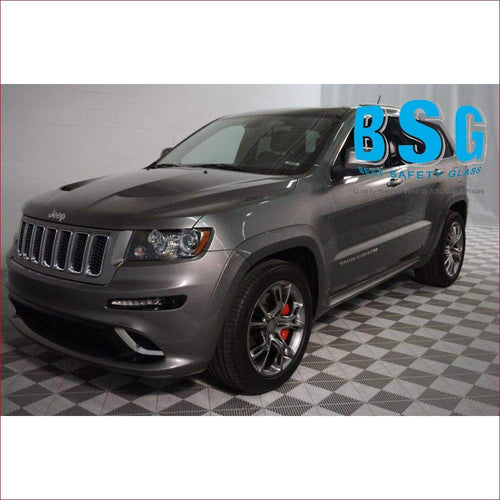 Jeep Grand Cherokee 4 Rain Sensor & Camera (Lane Departure/Night Vision) Artwork 11- Windscreen - Windscreen