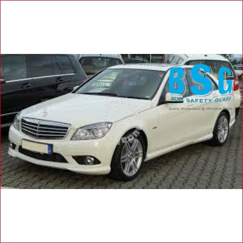 Mercedes-Benz C Class W204 Rain Sensor & Camera (Lane Departure/Night Vision) Artwork 07-14 Windscreen - Windscreen