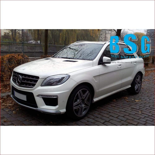Mercedes-Benz ML/GLE W166 Rain Sensor & 2 Camera Artwork 12-19 Heated & Encapturelated Windscreen - Windscreen