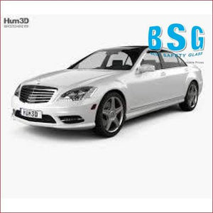Mercedes-Benz S Class W221 Rain Sensor & 1 Camera (Lane Departure/Night Vision) Artwork & Heated 09-13 Windscreen - Windscreen