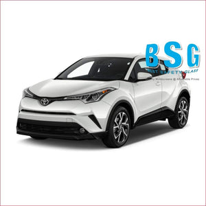 Toyota C-HR Rain Sensor & Camera Artwork 17- Windscreen - Windscreen