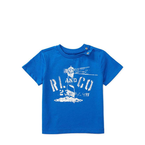 Ralph Lauren Cotton Jersey Graphic Shirt