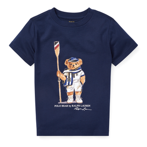 RALPH LAUREN Regatta Bear Cotton Tee