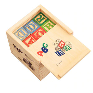 ABC Wooden Blocks 27 Pcs