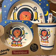 Load image into Gallery viewer, Yookidoo Dinner Set (Astronaut)