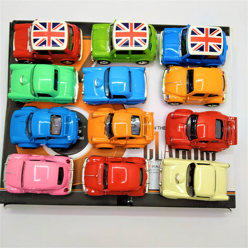 Diecast Cars Pack of 12