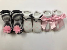 Load image into Gallery viewer, Baby Girl Booties ( Panda )