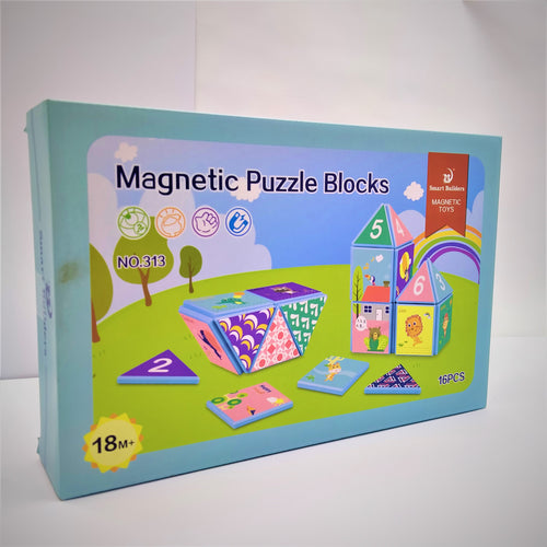 magnetic Puzzle Blocks