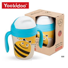 Load image into Gallery viewer, Yookidoo Straw Cups (Bee)