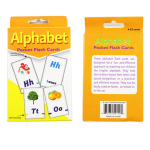 Alphabets Pocket Flash Cards