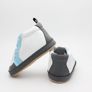 Baby Boy Shoes (Black & Blue)