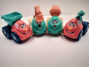 Cartoon Engineering Vehicles