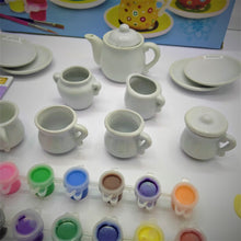 Load image into Gallery viewer, Ceramic Tea Set