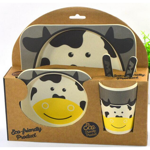 Yookidoo Dinner Set (Cow)