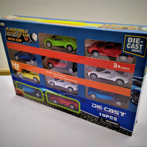Diecast model Cars- Pack of 10