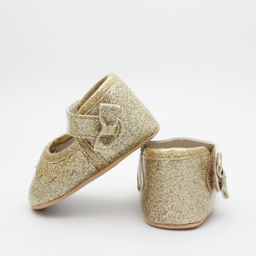 Baby Girl Shoes (Golden)
