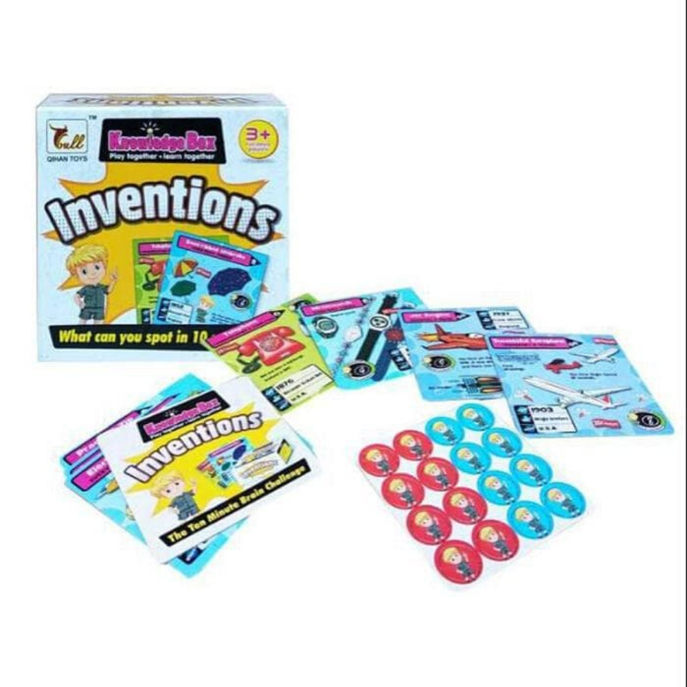 Inventions Flash Cards
