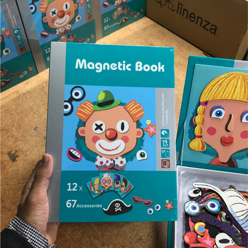 Magnetic Book