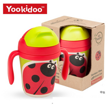 Load image into Gallery viewer, Yookidoo Straw Cups (Beetles)
