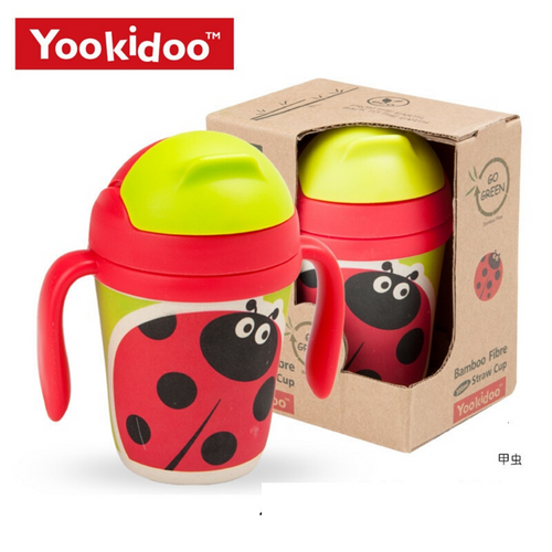 Yookidoo Straw Cups (Beetles)